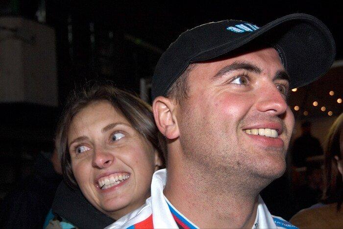 Medailonek Michala Picka - The Best of 4 MTBS - Michal Prokop se svou přítelkyní na finále SP 2006