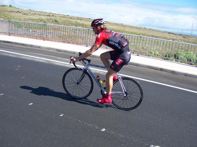Maxidek Cannondale na soustředění na Kanárských ostrovech 2007, foto: týmový archiv