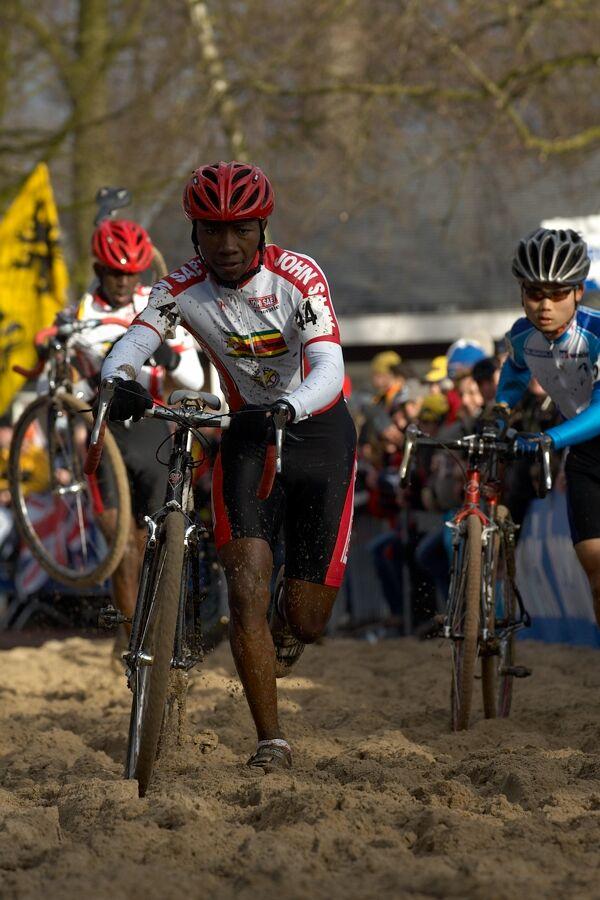 Gorden Martin ze Zimbabwe - Mistrovství světa v cyklokrosu 2007, Hooglede, BEL - kat. pod 23 let
