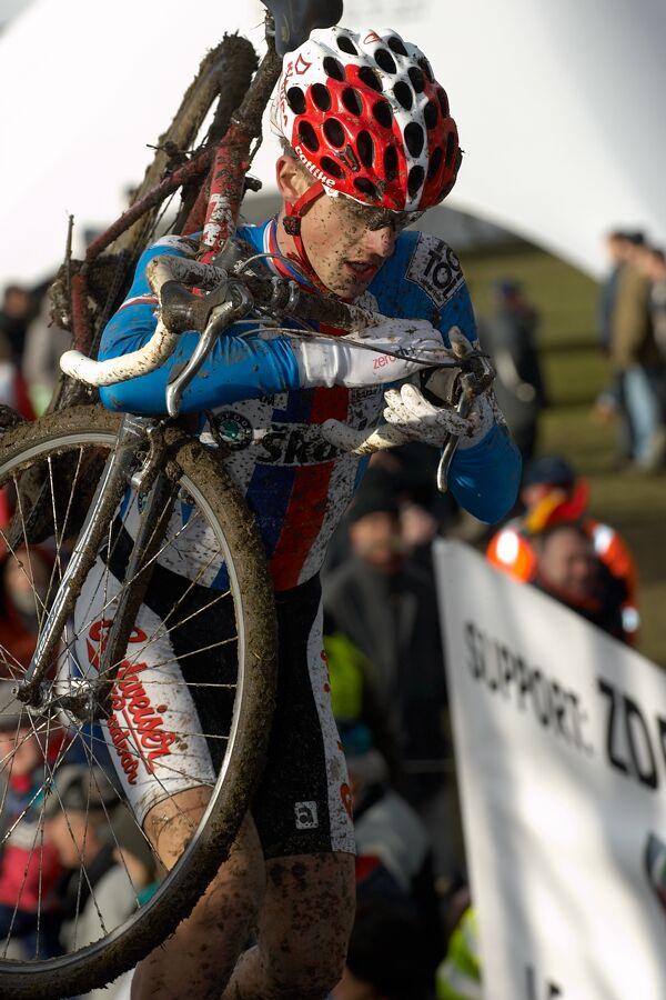 Luk� Klou�ek - Mistrovstv� sv�ta v cyklokrosu 2007, Hooglede, BEL - kat. pod 23 let