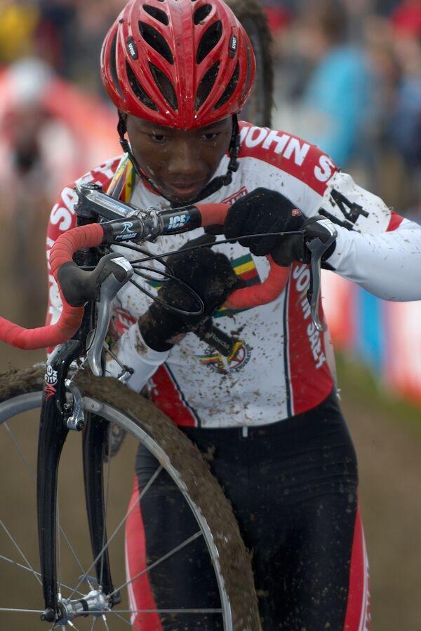 Gorden Martin /ZIM/ - Mistrovství světa v cyklokrosu 2007, Hooglede, BEL - kat. pod 23 let