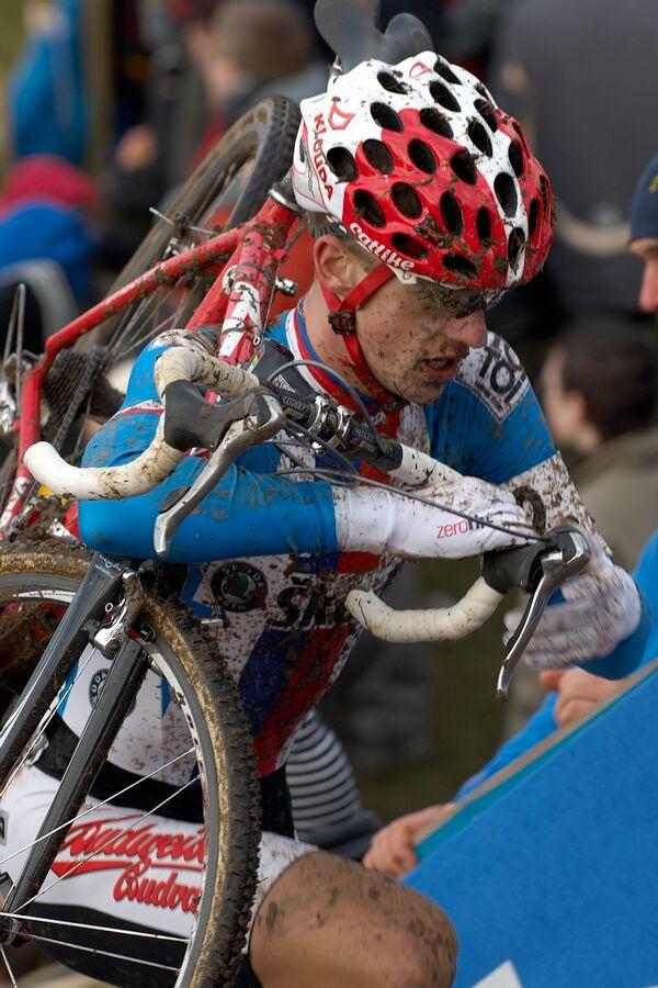 Lukáš Klouček - Mistrovství světa v cyklokrosu 2007, Hooglede, BEL - kat. pod 23 let