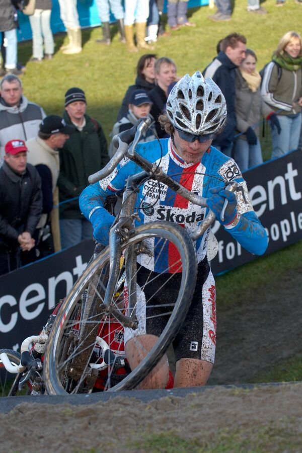 Jiří Polnický - Mistrovství světa v cyklokrosu 2007, junioři - Hooglede-Gits, Belgie