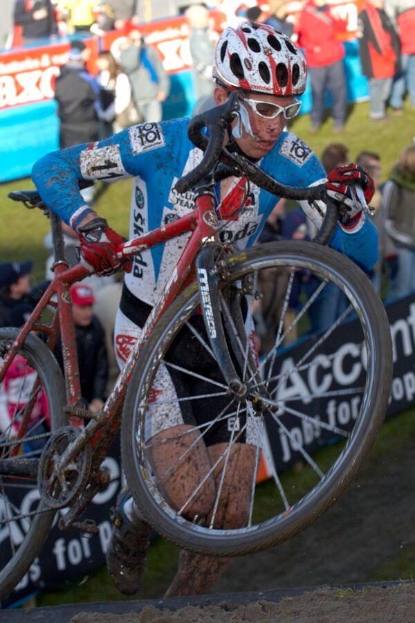 Petr Marvan - Mistrovstv� sv�ta v cyklokrosu 2007, junio�i - Hooglede-Gits, Belgie
