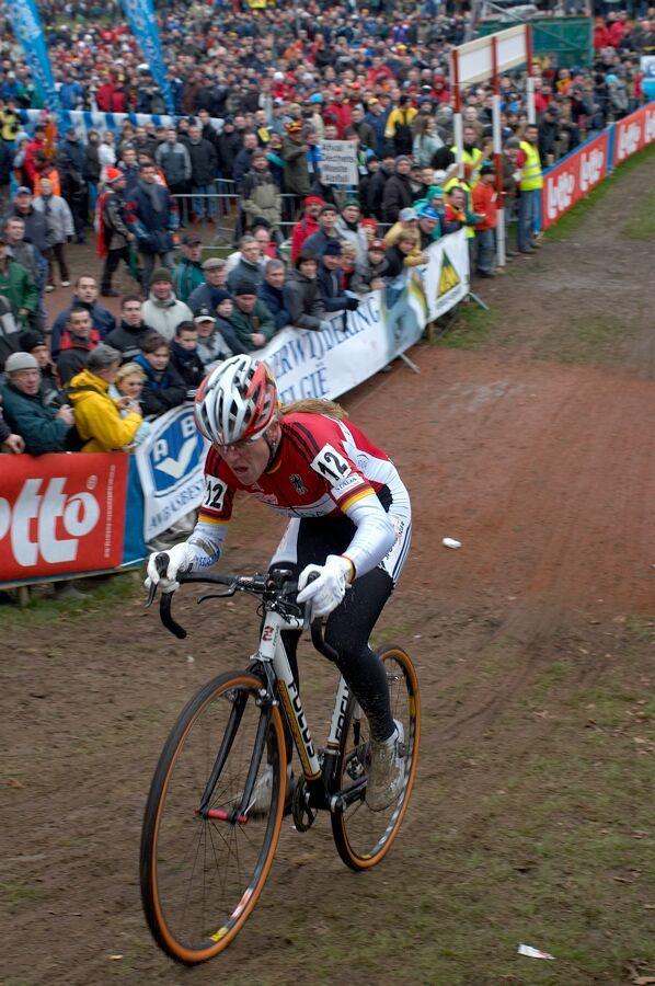Hanka Kupfernagel /GER/ - MS cyklokros 2007, Hooglede-Gits (BEL)