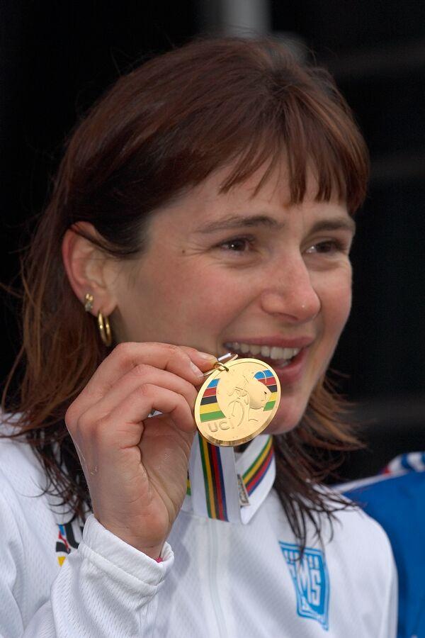 Maryline Salvetate /FRA/ - MS cyklokros 2007, Hooglede-Gits (BEL)