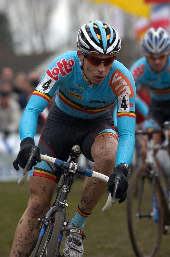 Sven Vanthourenhout /BEL/ - MS cyklokros 2007, Hooglede-Gits (BEL)
