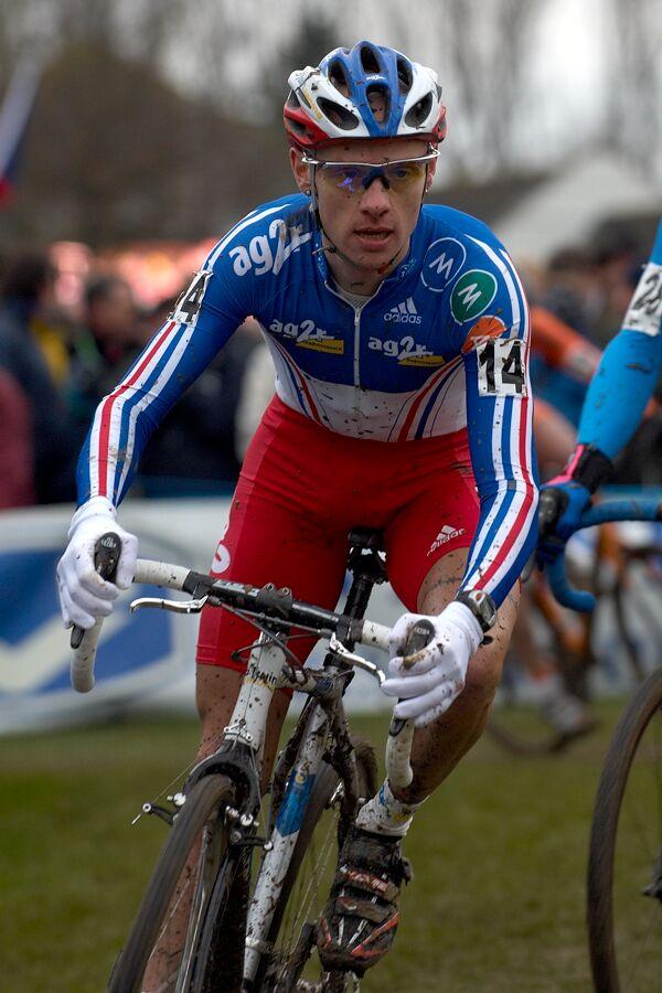 John Gadret /FRA/ - MS cyklokros 2007, Hooglede-Gits (BEL)