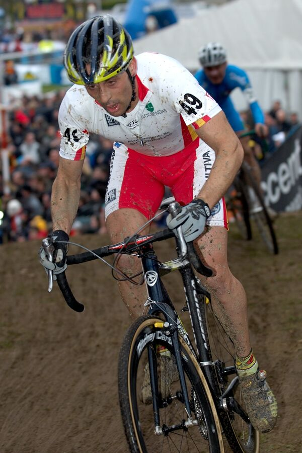 Jose Antonio Hermida - MS cyklokros 2007, Hooglede-Gits (BEL)