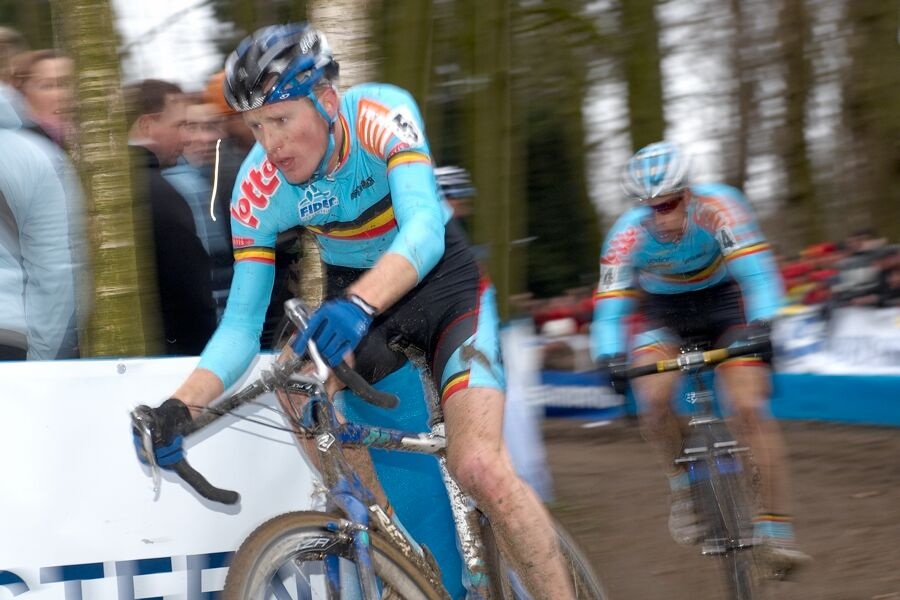 Klaas Vantornout /BEL/ - MS cyklokros 2007, Hooglede-Gits (BEL)