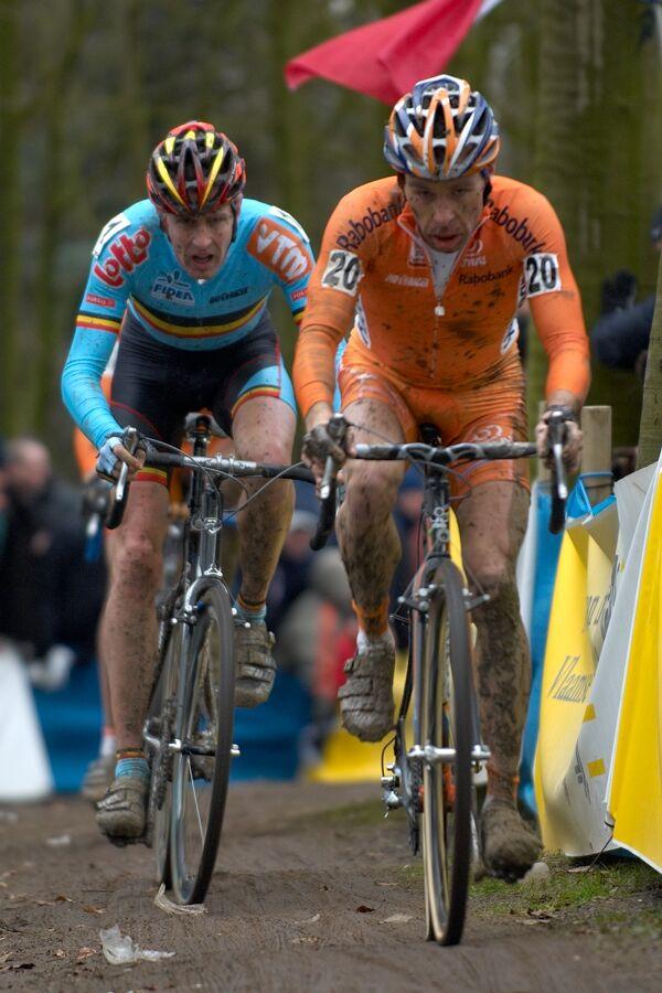 Richard Groenendaal a Erwin Vervecken - MS cyklokros 2007, Hooglede-Gits (BEL)