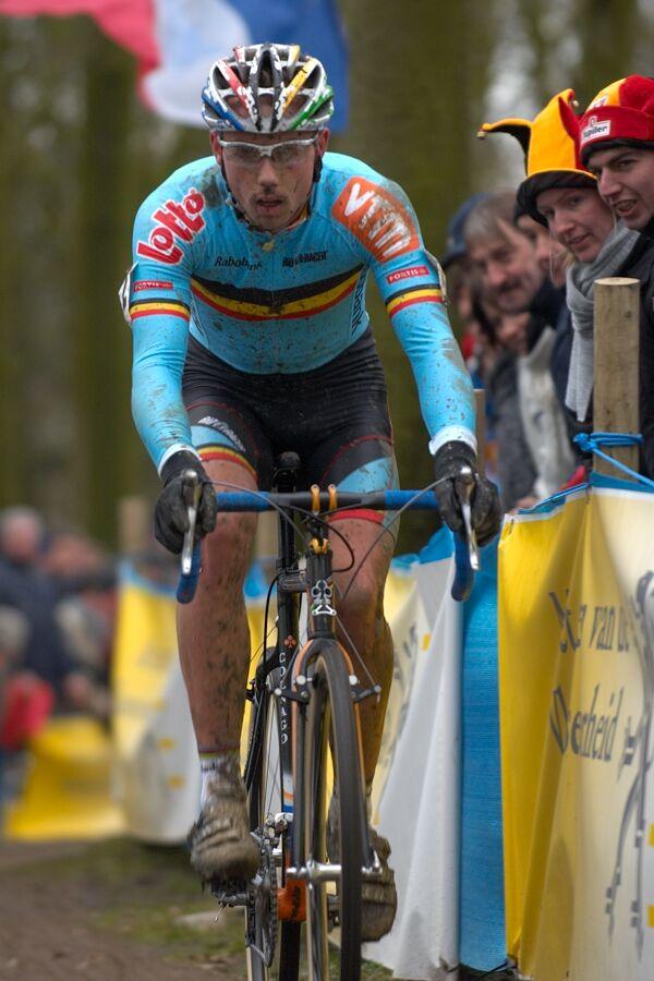 Sven Nijs - MS cyklokros 2007, Hooglede-Gits (BEL)