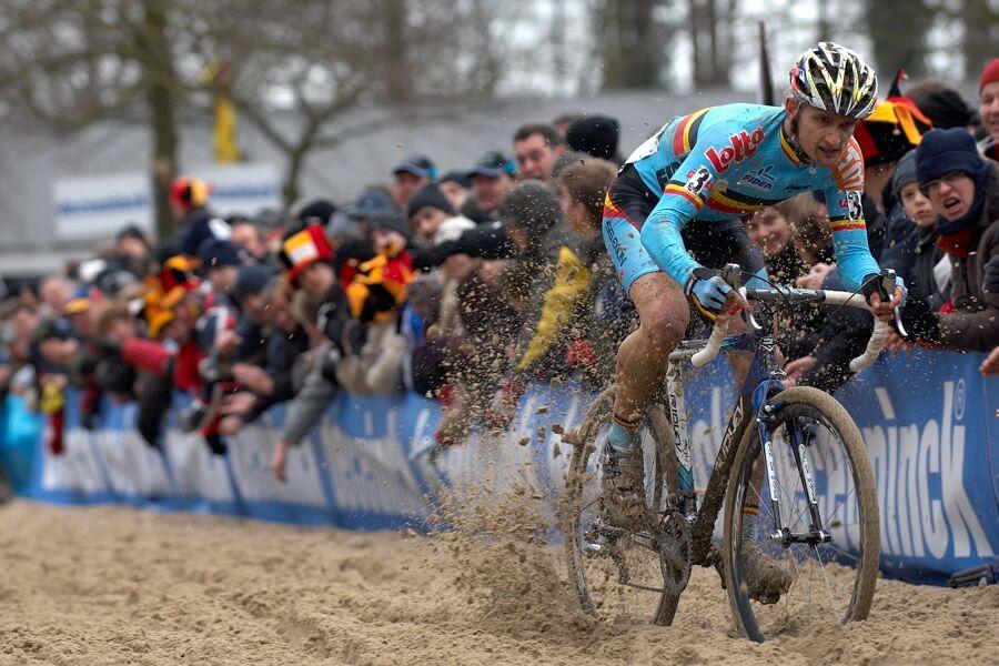 Bart Wellens - MS cyklokros 2007, Hooglede-Gits (BEL)