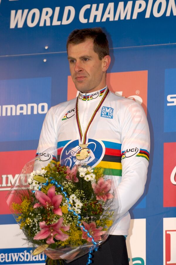 Mistr světa Erwin Vervecken - MS cyklokros 2007, Hooglede-Gits (BEL)