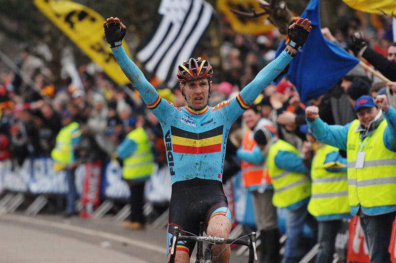 Mistr Světa Erwin Vervecken - MS cyklokros 2007, Hooglede-Gits (BEL) Photo: Frank Bodenmüller, www.mtbsector.com