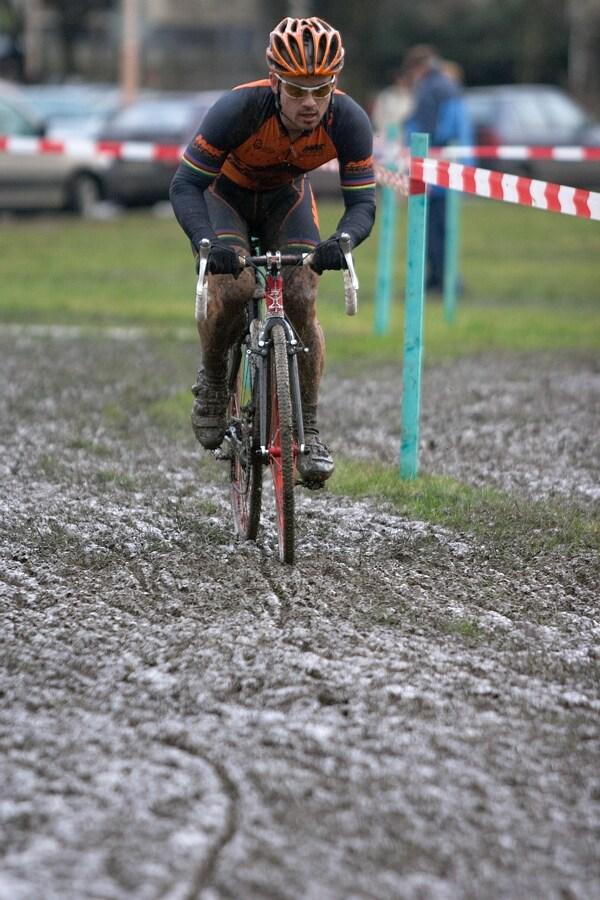 Mistrovství České republiky v cyklokrosu - 6.1. 2007 - Č. Lípa - Zdeněk Štybar