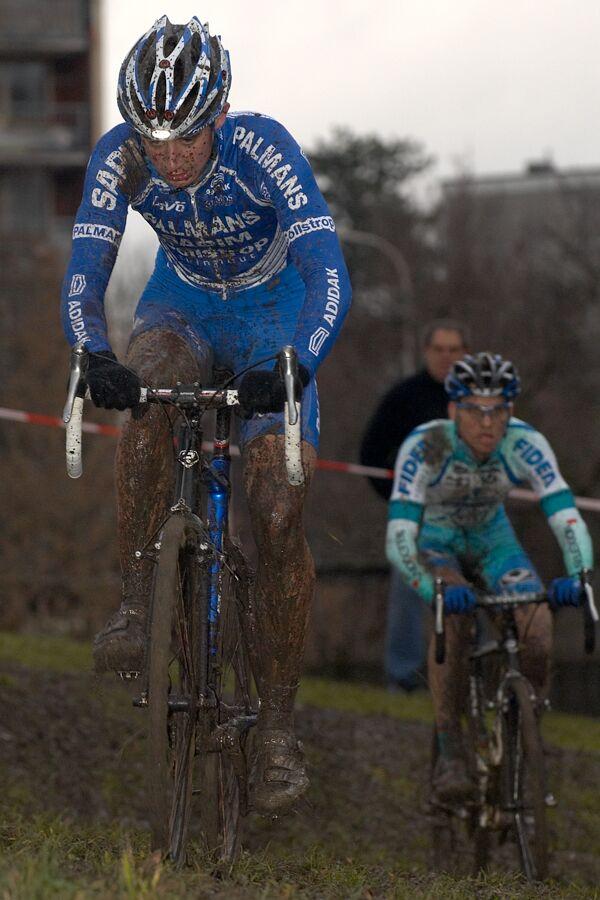 Radek Šimůnek (Palmans Collstrop) - Mistrovství republiky v cyklokrosu 2007, Česká Lípa