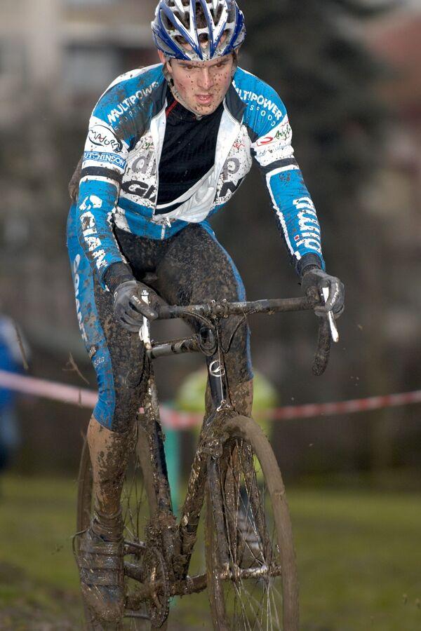 Jan Škarnitzl (Dimp Giant) - Mistrovství republiky v cyklokrosu 2007, Česká Lípa