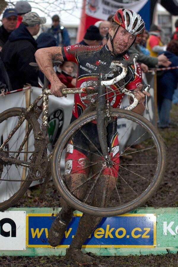 Franti�ek Klou�ek - Mistrovstv� republiky v cyklokrosu 2007, �esk� L�pa