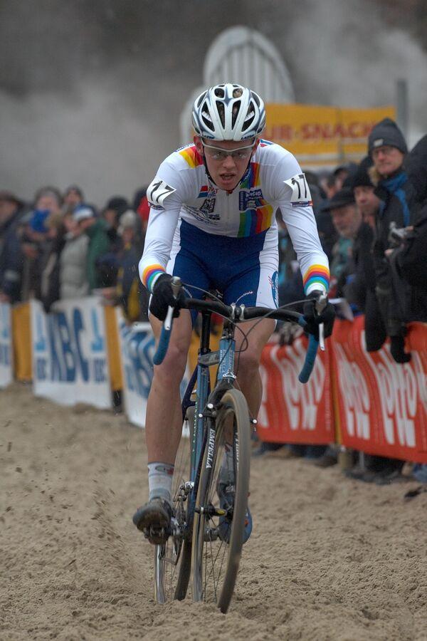 Dieter Vanthourenhout - Světový pohár v cyklokrosu - U23 - Hofstade (BEL)