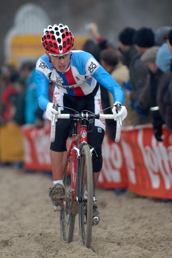Lukáš Klouček - Světový pohár v cyklokrosu - U23 - Hofstade (BEL)