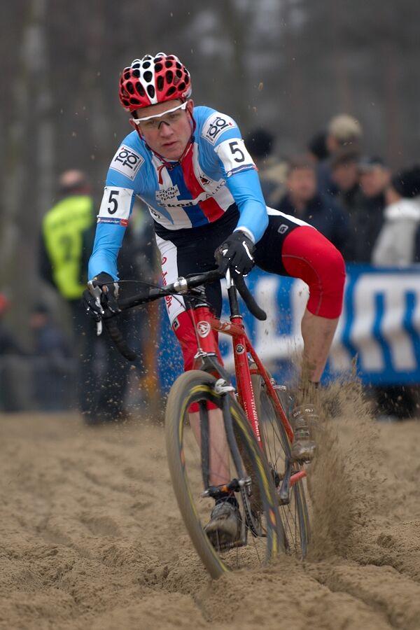 David Menger - Světový pohár v cyklokrosu - U23 - Hofstade (BEL)