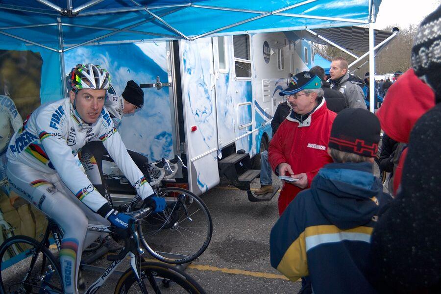 Erwin Vervecken - Světový pohár v cyklokrosu - Elite -Hofstade (BEL)