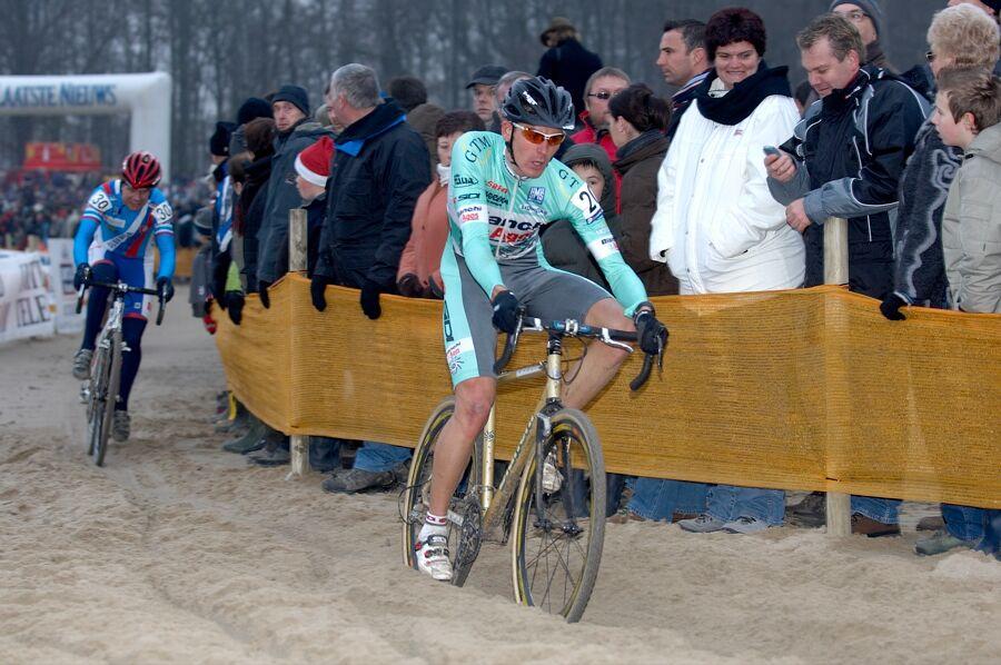 Julien Absolon - Sv�tov� poh�r v cyklokrosu - Elite -Hofstade (BEL)