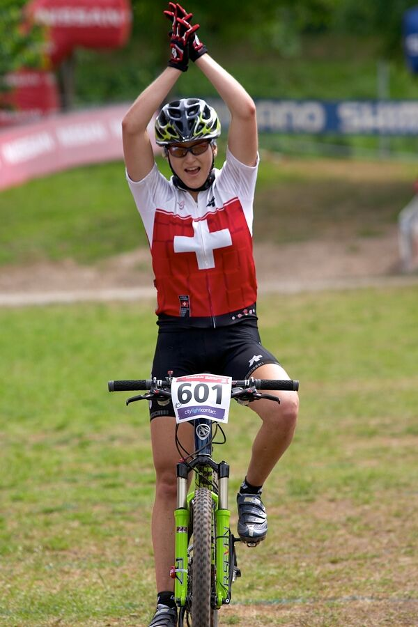 Nissan UCI MTB World Cup XC #2 26.-27.5. 2007 - juniorka Katrin Stirnemann