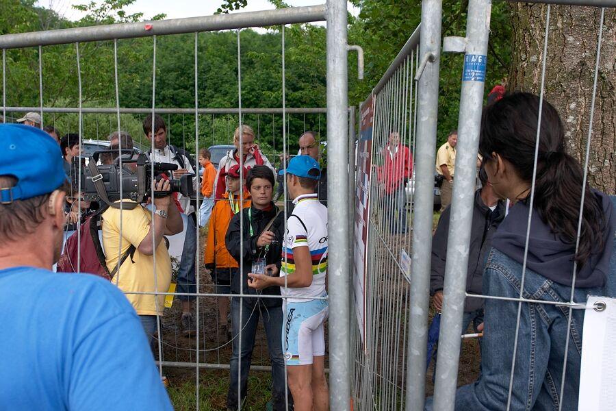 Nissan UCI MTB World Cup XC #2 26.-27.5. 2007 - Julien Absalon