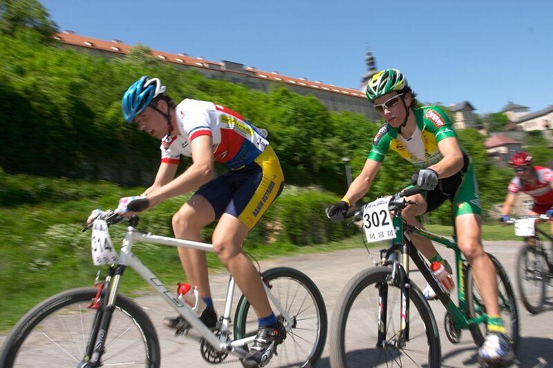 2. závod ČP XC Kutná Hora 19.5. 2007 - Radovan Bierski a Aleš Vojta