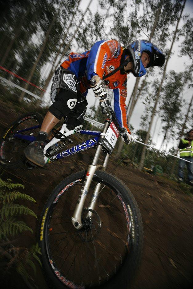 SP DH No.1 Vigo 2007 - Fabien Barel