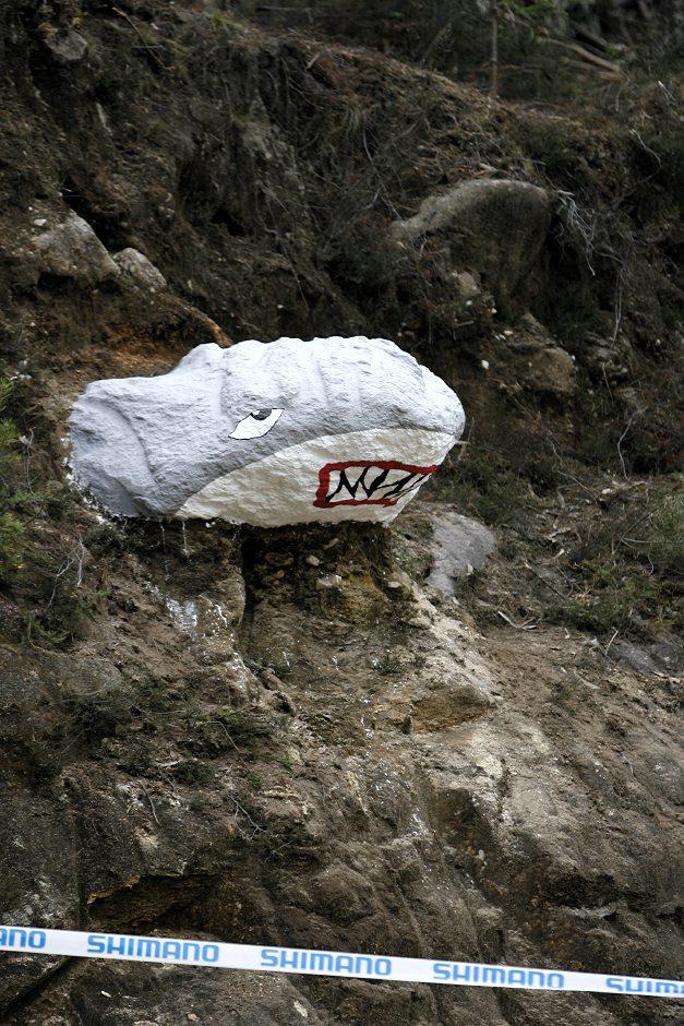 SP 4X No.1 Vigo 2007 - žraločí skála