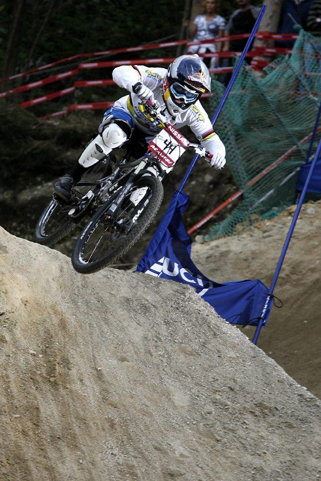 SP 4X No.1 Vigo 2007 - Jill Kintner v kvalifikaci