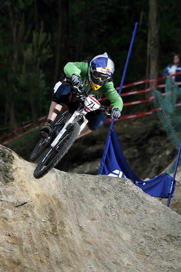 SP 4X No.1 Vigo 2007 Guido Tschugg v kvalifikaci