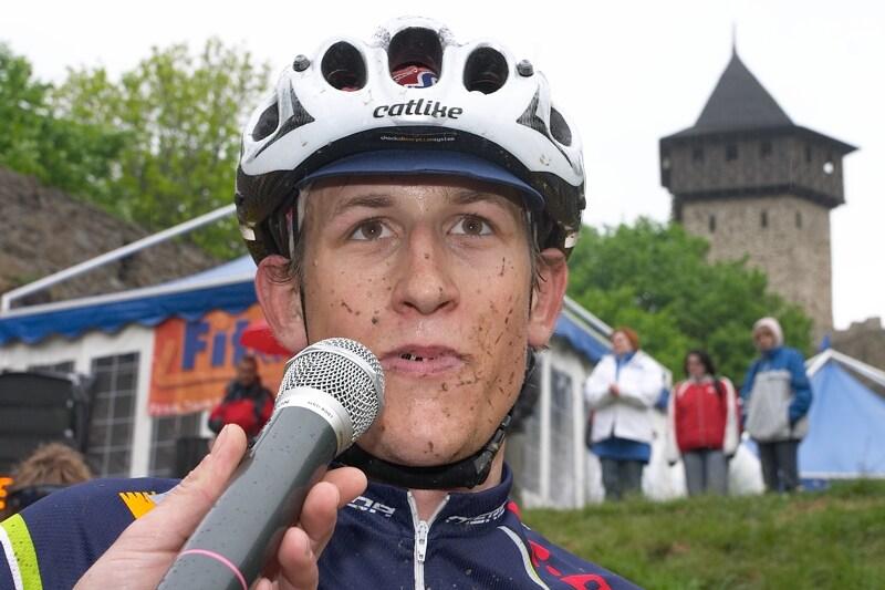 Author Šela Marathon 2007 - Jan Jobánek v cíli
