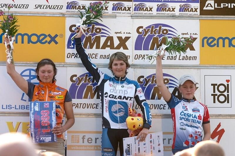 ČP XC No.1 Teplice 2007 - nejlepší juniorky