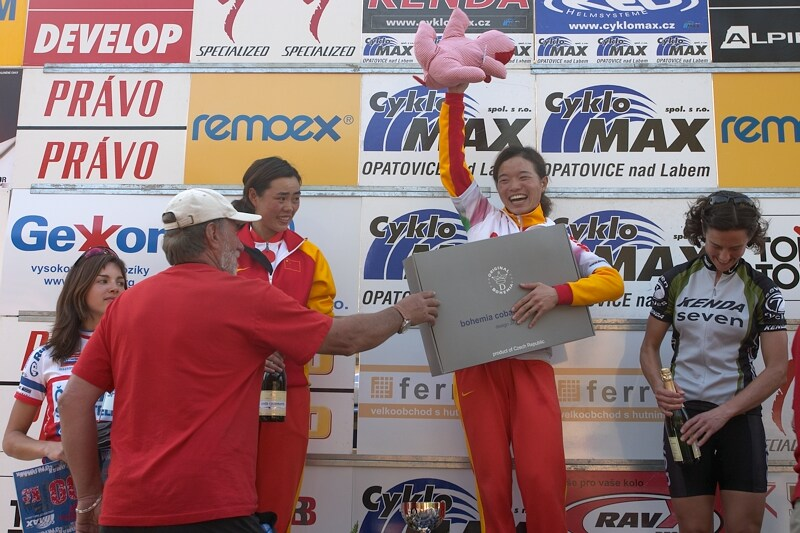 ČP XC No.1 Teplice 2007 - čínská radost