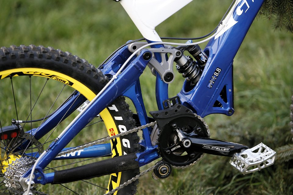 DH bike Michala Marošiho na rok 2007