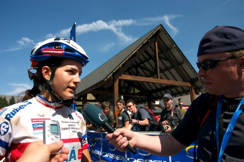 Nissan UCI MTB World Cup XC #1 Houffalize, 22.4.2007 - Tereza Huříková
