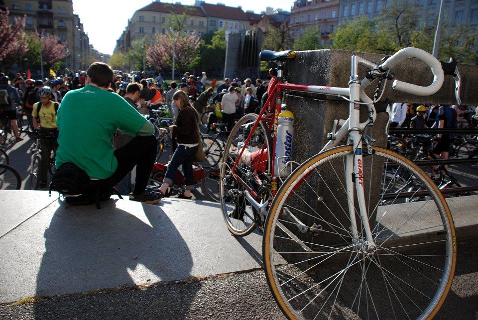 Cykloj�zda Prahou 19.4.2007