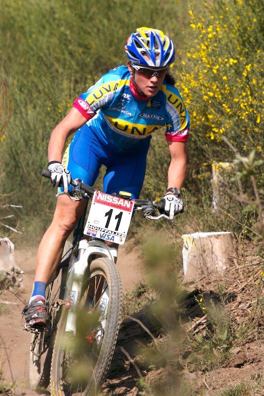Nissani UCI MTB World Cup XC#1 Houffalize 22.4. 2007 - Kateřina Nash - Hanušová