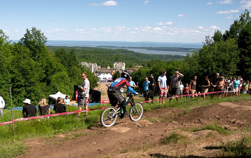 Nissan UCI MTB World Cup DH+4X #3, Mont St. Anne 24.6.'07