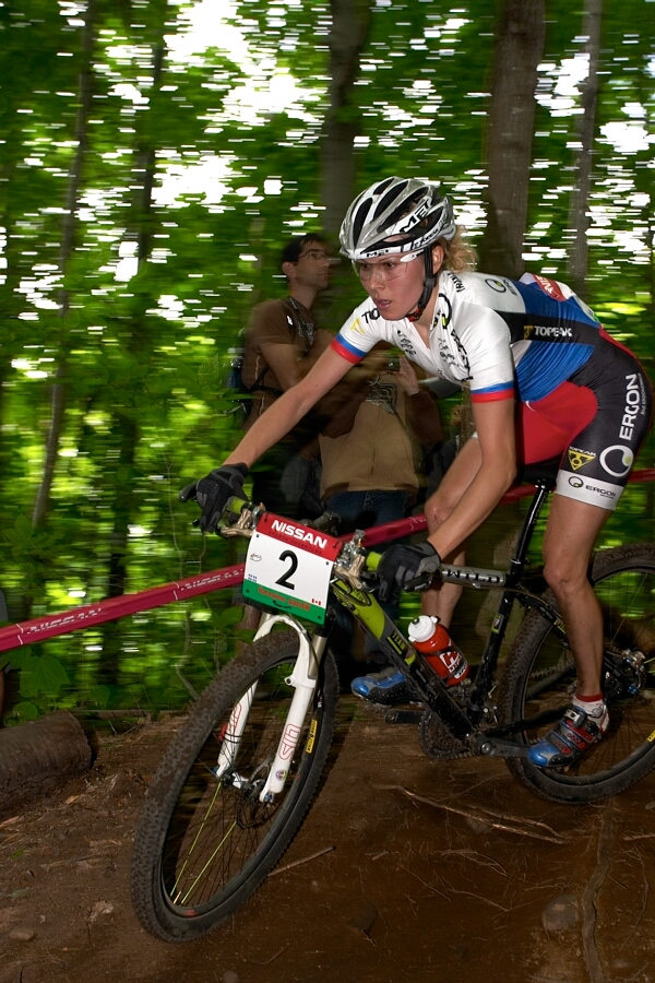 Nissan UCI MTB World Cup - Mont St. Anne, 23.6.'07 - Irina Kalentieva