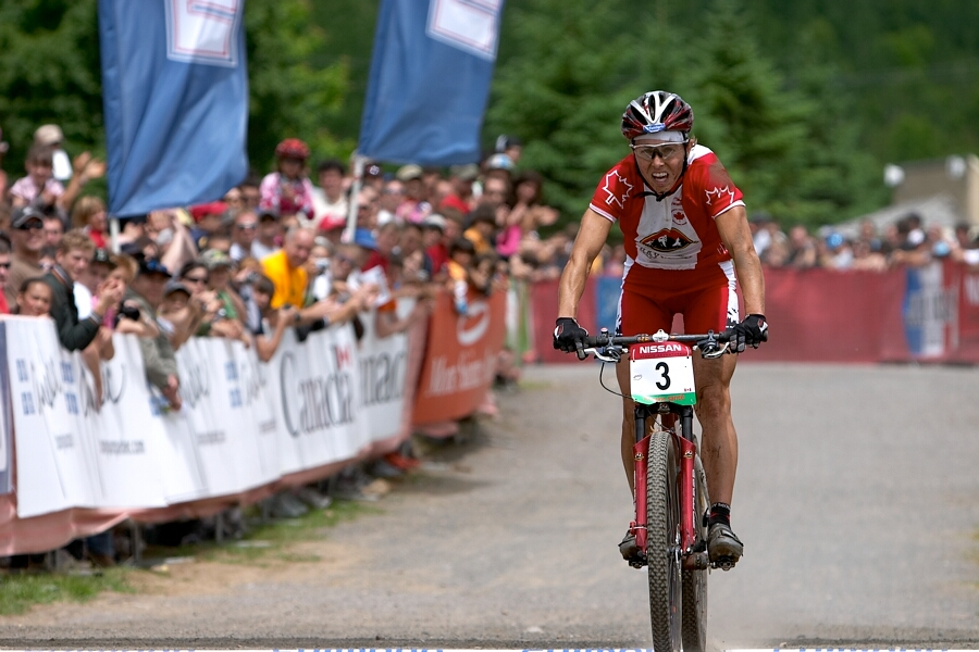 Nissan UCI MTB World Cup - Mont St. Anne, 23.6.'07 - Marie Helene Premont