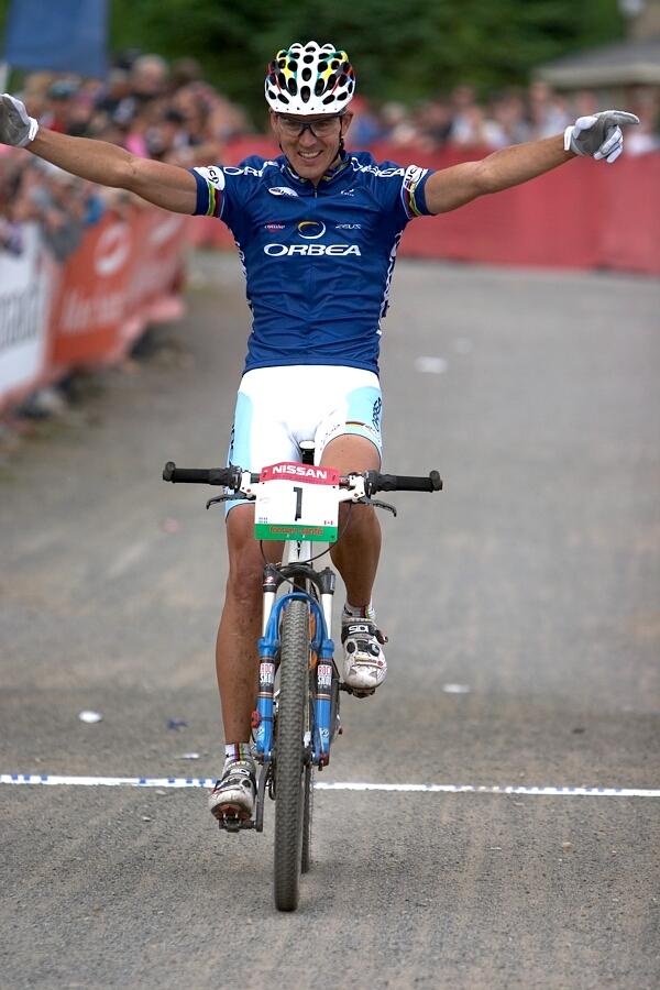 Nissan UCI MTB World Cup - Mont St. Anne, 23.6.'07 - Julien Absalon