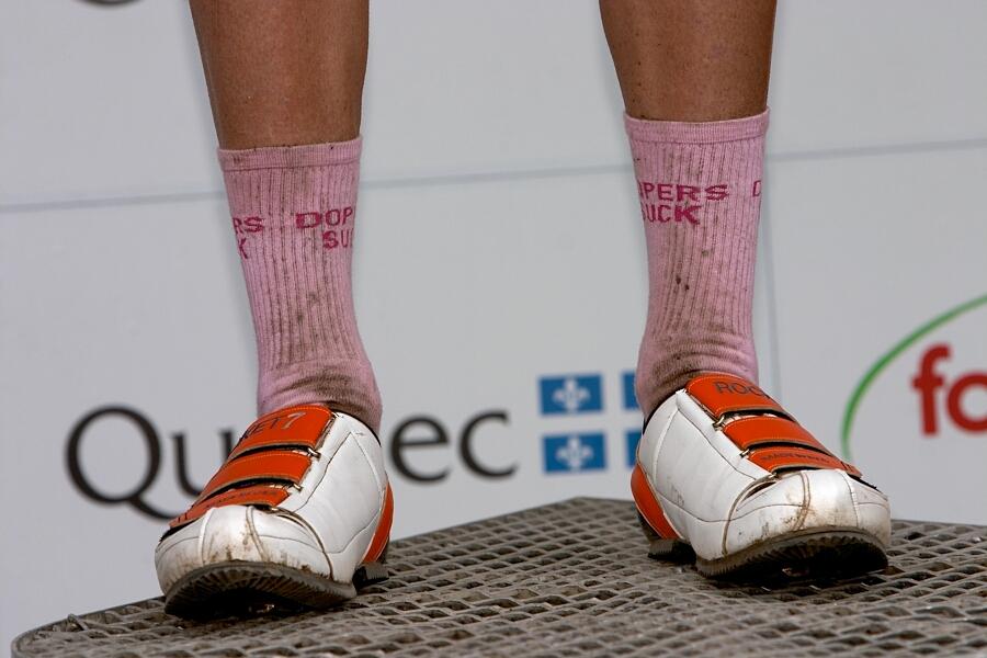Nissan UCI MTB World Cup - Mont St. Anne, 23.6.'07 - boty a fusky ála Kabush