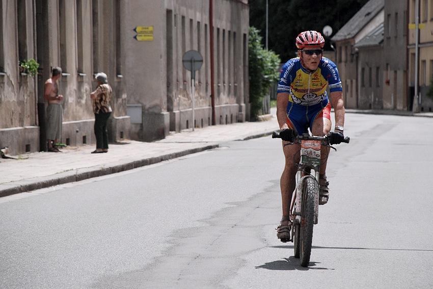MČR Maraton 2007 - průjezd Úpicí