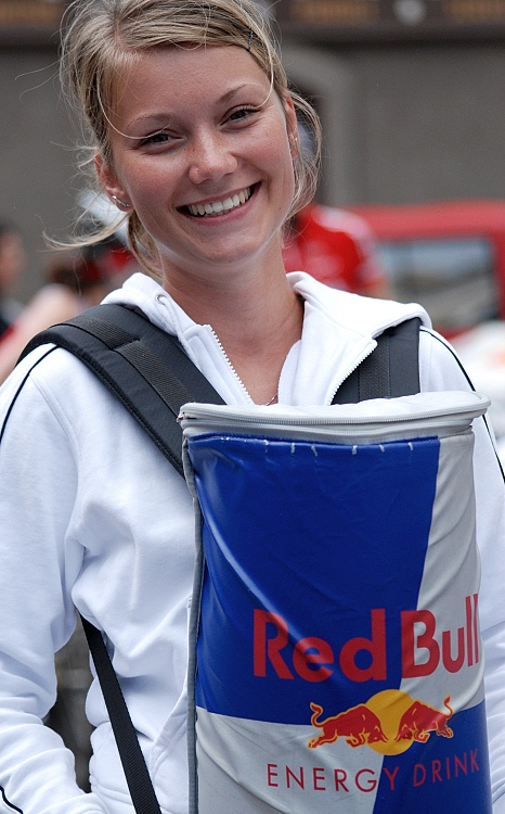 MČR Maraton 2007 - Red Bull girl