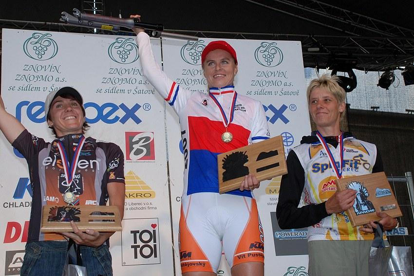 MČR Maraton 2007 - nejlepší ženy